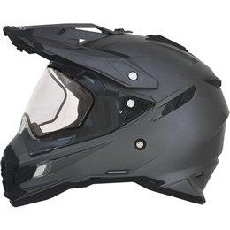 AFX FX41 Solid Snowmobile DS Dual Sport Helmet Grey
