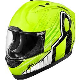 Icon Alliance Overlord Full Face Helmet Yellow