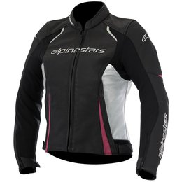 Alpinestars Womens Stella Devon Airflow Armored Leather Jacket Black