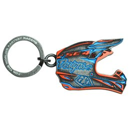 Troy Lee Designs SE4 Metal Keychain Orange