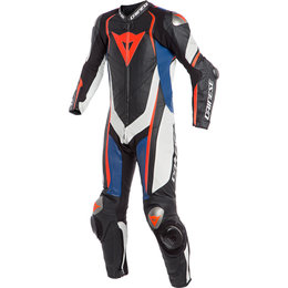 Dainese Mens Kyalami 1 Piece Armored Perforated Leather Suit Black