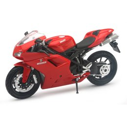 New Ray Toys Ducati 1198 Motorcycle Toy 1:12 Scale Red 57143A