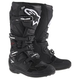 Black Alpinestars Mens Tech 7 Boots 2014 Us 5