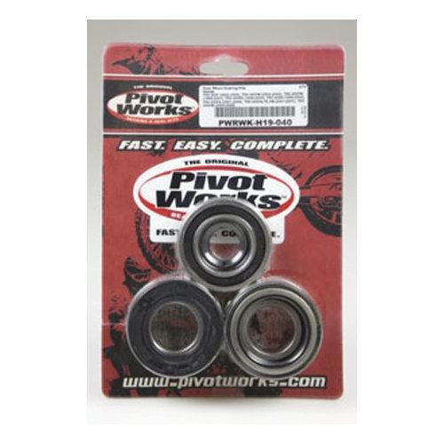 Both Front Wheel Bearings Seals Kit Honda TRX450FM Foreman 4x4 S 2002 2003 2004