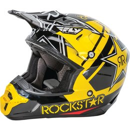 Fly Racing Kinetic Pro Rockstar Helmet Black