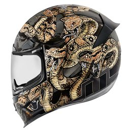 Icon Airframe Pro Cottonmouth Full Face Helmet Gold