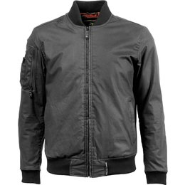 RSD Roland Sands Design Mens Squad Textile Riding Jacket Black
