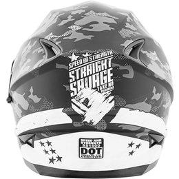 Speed & Strength Straight Savage SS1600 Full Face Helmet White