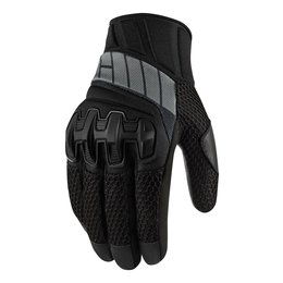 Black Icon Womens Overlord Mesh Gloves 2014 Stealth