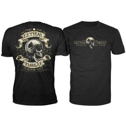 Lethal Threat Mens Road To Ruin T-Shirt 2014 Black
