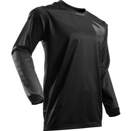Thor Mens Pulse Blackout Jersey Black