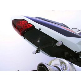 Black Mount/clear Lens Targa Tail Kit With Signals Black For Suzuki Gsxr 600 750 04-05