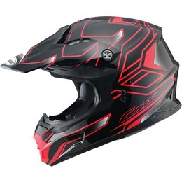 GMAX MX-86 Step Motocross MX Helmet Black