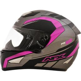 AFX FX95 Womens Matte Airstrike Motocross Helmet Pink