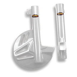 White Maier Fork Disc Guard For Honda Crf230f Crf 230f 2003-2012