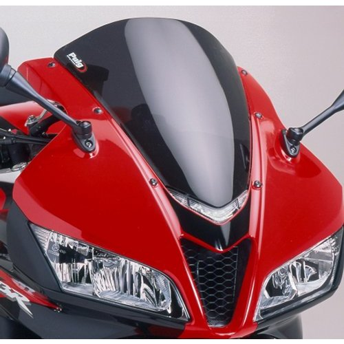 HTTMT CFP-1187-3 Compatible with Honda CBR 600 RR 2007 2008 2009 2010 2011 ABS Windshield Windscreen Black