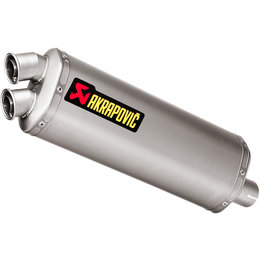 Akrapovic Exhaust Slip On Muffler Titanium And Stainless For Honda CRF1000L 2016