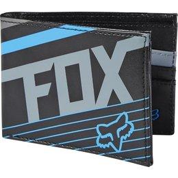 Fox Racing Mens Solvent Wallet Black