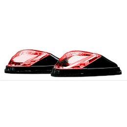 K&S Technologies Marker Lights Mini LED Flush Mount Black/Red