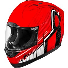 Icon Alliance Overlord Full Face Helmet Red