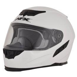 AFX FX-105 FX105 Full Face Helmet White