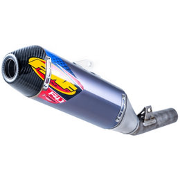 FMF Factory 4.1 RCT Slip-On Muffler Honda CRF450R 13-16 Blue Carbon Fiber 041508 Unpainted