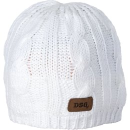 Ivory Divas Womens Cable Knit Beanie 2014