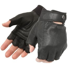 Black Pokerun Easy Rider 2.0 Fingerless Gloves