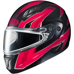 HJC CL-Max II 2 Ridge Dual Pane Modular Snowmobile Helmet Red