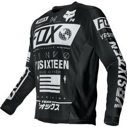 Fox Racing Mens Nomad Union Jersey Black