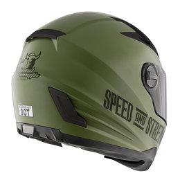 Matte Green Speed & Strength Ss1300 Under The Radar 2.0 Helmet