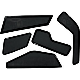 Straightline Snowmobile 5 Piece Exhaust Side Vent Kit For Ski-Doo 183-107 Black