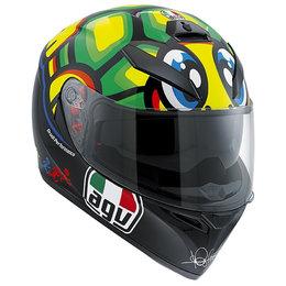 AGV K3 K-3 SV Valentino Rossi Tartaruga Full Face Motorcycle Helmet Multicolored