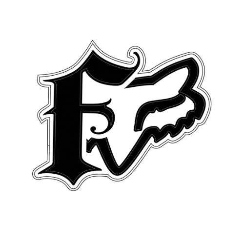 $2.50 Fox Racing Dakota Sticker Decal 4 Inch #140594 - photo#4