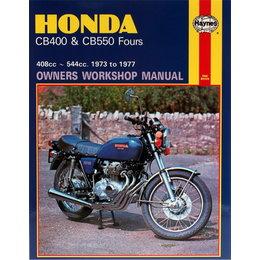 Haynes Repair Manual For Honda 73-77 CB400 CB550 Fours 408cc And 544cc M262 Unpainted