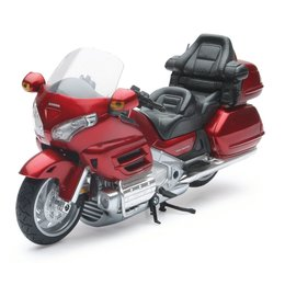 New Ray Toys Honda Gold Wing 2010 Motorcycle Toy 1:12 Scale Burgundy 57253A