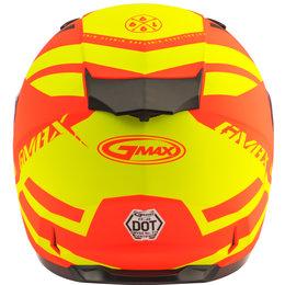 GMAX FF49 FF-49 Berg Snowmobile Helmet With Dual Pane Shield Orange