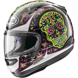 Arai Signet-X El Creneo Full Face Helmet With Flip Up Shield Pink