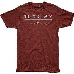 Thor Mens MX Premium Fit T-Shirt Red