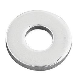 Gardner-Westcott Hardened Flat Washers 1/2 Chrome 50 Pack Metallic