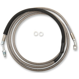 Drag Specialties Hydraulic Clutch Line +10 Inch For Harley 0661-0045 Unpainted