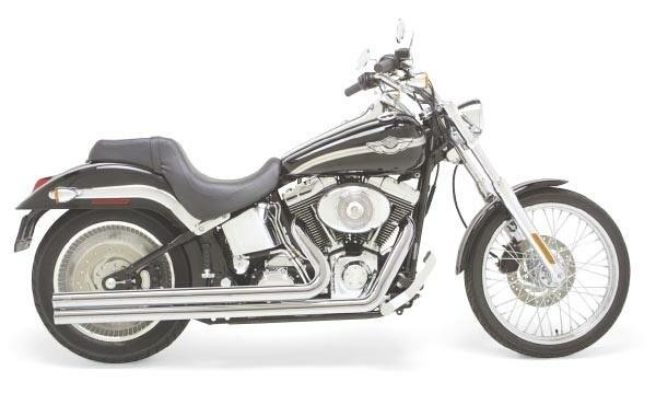 $724 99 Vance & Hines Exhaust Big Shots Long For Harley #206418
