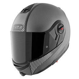 Silver Carbon Speed & Strength Ss1700 Lock And Load Modular Helmet