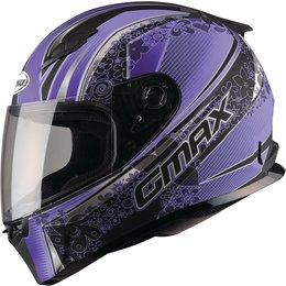 GMAX Womens FF49 Elegance Full Face Helmet Black