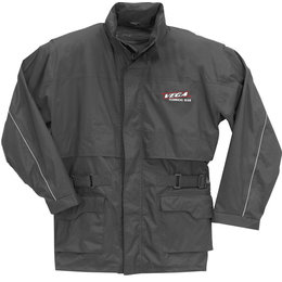 Vega Mens Waterproof Rain Jacket Black