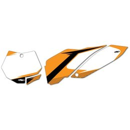White Factory Effex Graphic # Plate Background Ktm Sxf 11