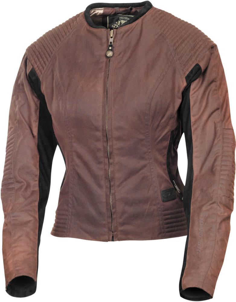 400 00 Rsd Womens Jett Waxed Cotton Riding Jacket 993954