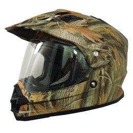 Wood Afx Mens Fx-39ds Fx39 Ds Camo Dual Sport Helmet