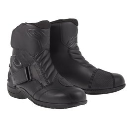 Black Alpinestars Mens Gunner Waterproof Boots 2014 Eu 38