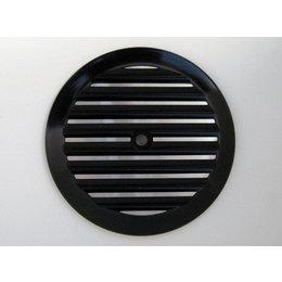 Joker Machine Insert For Round Air Cleaner Finned Black H-D Twin Cam 1999-2012